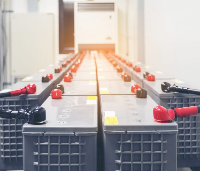Battery,Pack,In,Battery,Room,In,Power,Plant,For,Supply